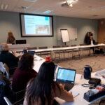 bijeenkomst werkgroep VN-verdrag in carre-opstelling