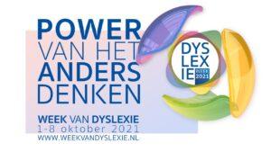 Week van de dyslexie 2021-poewr van het anders denken