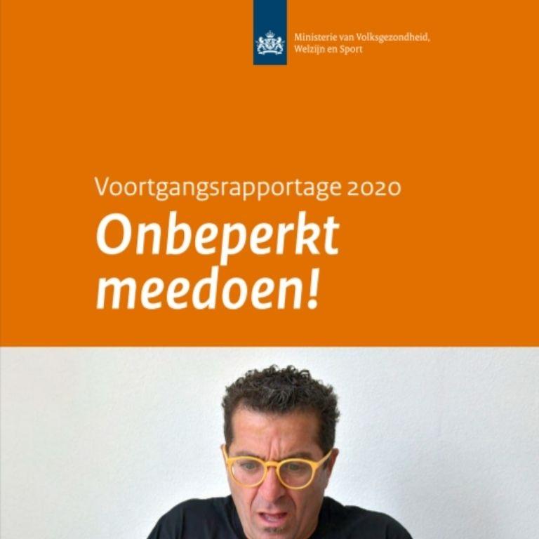 Kaft rapport Programma Onbeperkt meedoen