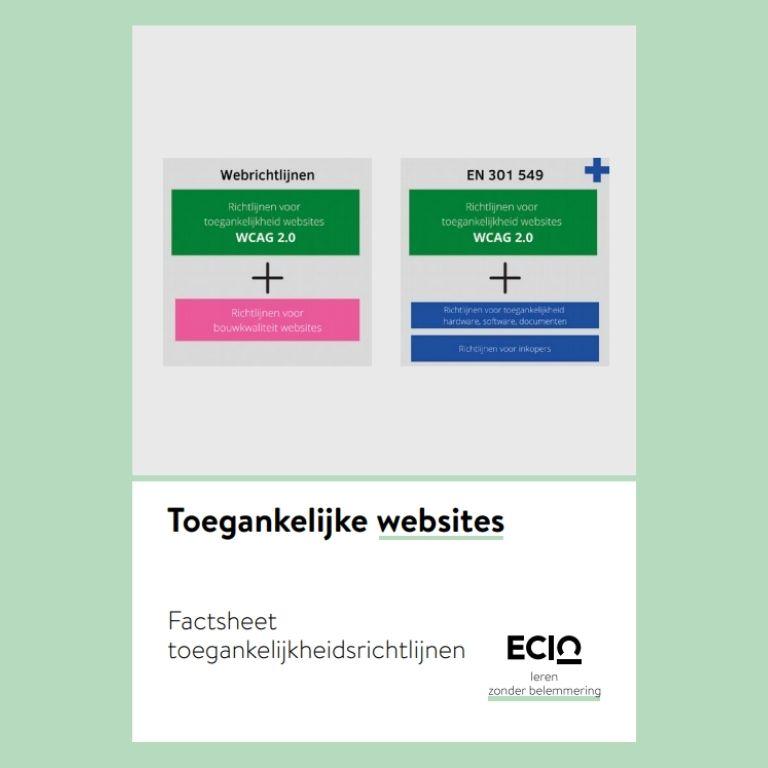 044 web toegankelijke richtlijnen