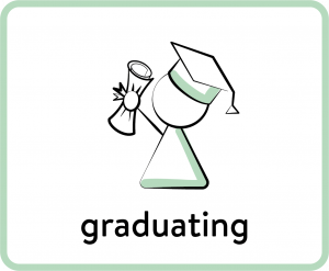 Ecio graduating