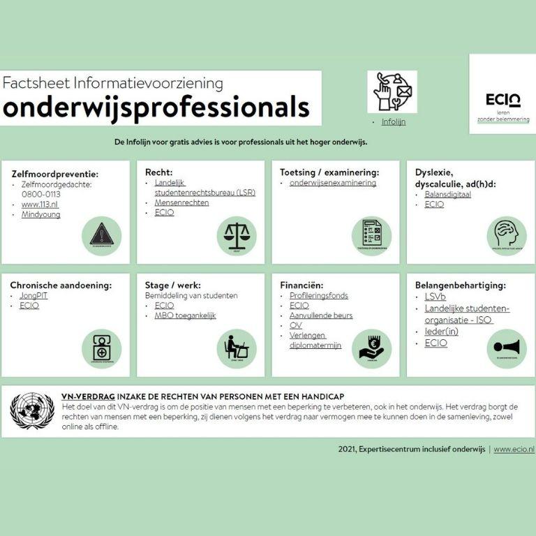 062 web infographic informatievoorziening onderwijsprofessionals