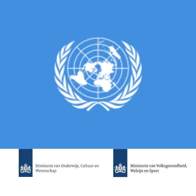 Afbeelding logo's VN-verdrag, OCW en VWS