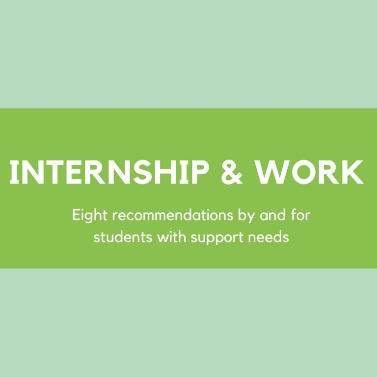 Image of Infographic internship and work