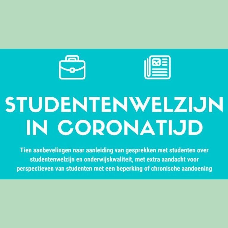 Afbeelding van Infograpfic Studentenwelzijn in coronatijd