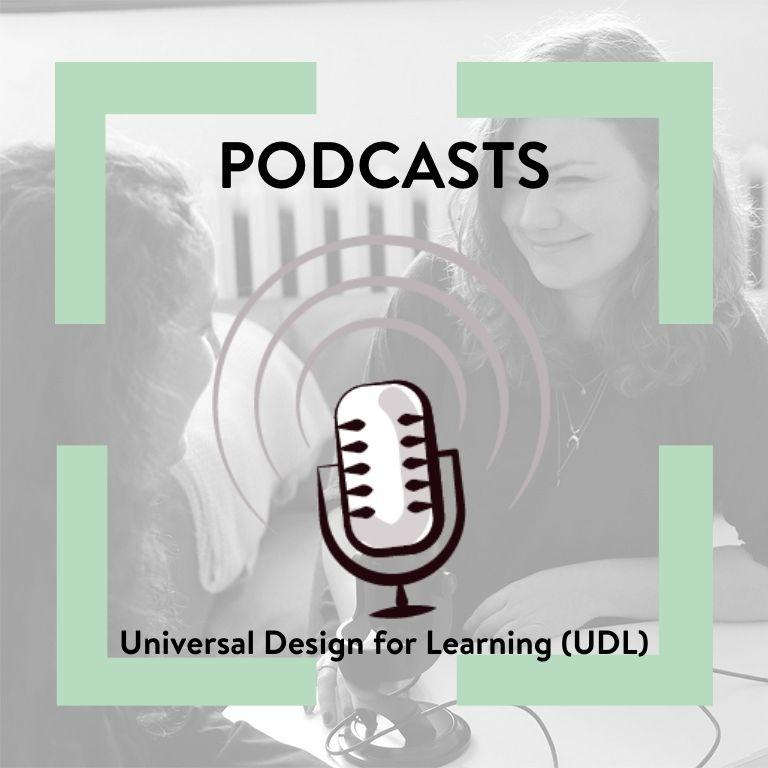 Afbeelding aankondiging Podcast UDL